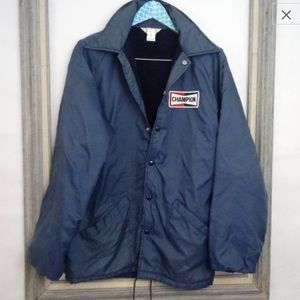 Vintage Rare Champion Racing Lined Jacket M Unisex